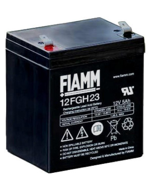 Batteria al Piombo 12V 5Ah (Faston 6,3mm)