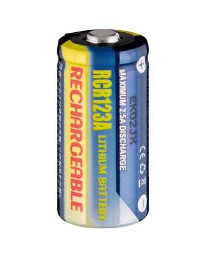 Batteria al Litio Ricaricabile CR123A 500 mAh