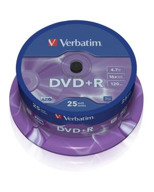 Campana 25 DVD+R Matt Silver 4.7GB