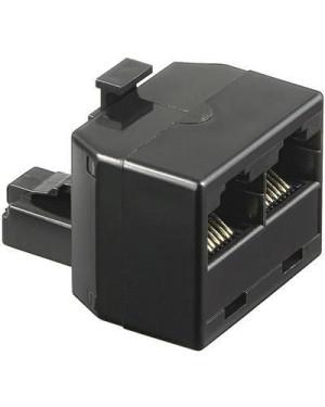 Accoppiatore telefonico 8P8C M a 2x 8P8C F