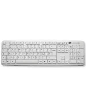 Tastiera 105 tasti USB Standard, colore Bianco