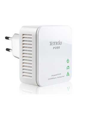 Kit 2 Mini Adattatori Powerline Ethernet 200 Mbps P200