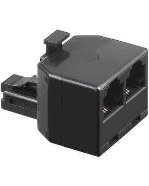 Accoppiatore telefonico duplex 6P4C M a 2x 6P4C F