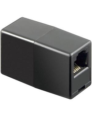 Adattatore Telefonico RJ12 6 poli 6 contatti Pin to Pin F/F Nero