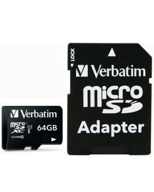 Memoria Micro SDXC 64 Gb con Adattatore - Classe 10