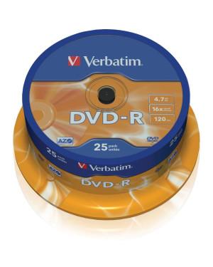 Campana 25 DVD-R Matt Silver 4.7GB